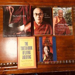 Buddhist Bundle! 5 books by the Dalai Lama